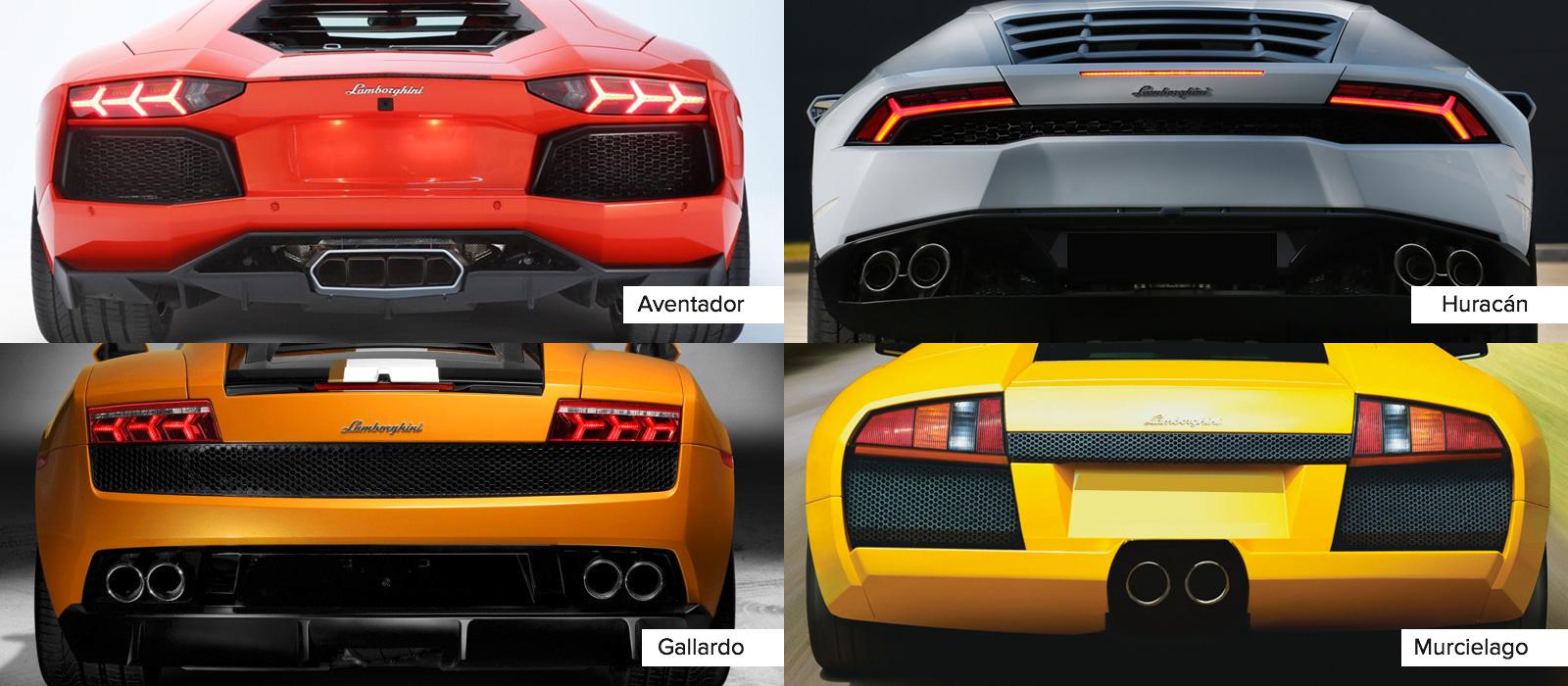 Lamborghini រាងដូចៗគ្នាអ៊ីចឹង ធ្វើម៉េចអាចមើលដឹងថាជាម៉ូដែលណាទៅ?