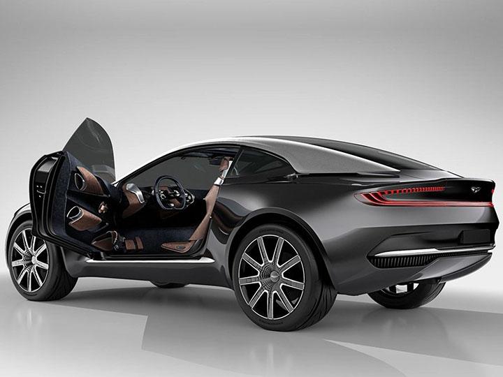 SUV ដំបូងបង្អស់របស់ Aston Martin នឹងប្រើឈ្មោះដ៏ចម្លែកមួយ